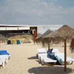 beach club and bar