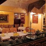 La salle du restaurant la Fibule