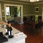 Chanric dining area