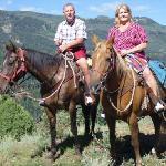 Our mountain horseback ride