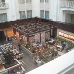 Atrium/lobby/Urban Farmer from 10th floor