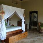 big bed....