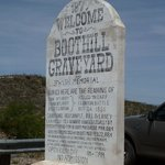 Entrance Sign Boot Hill Graveyard