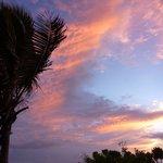 Sunrise over Tonga