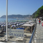 The beach Alassio