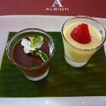 Albion - Two Chocolates Dessert