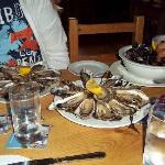2 dozzine di ostriche e cozze