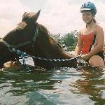 Ride in the water.