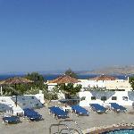 Anixis pool view
