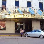 1.- Amerian Hotel Casino: Entrada principal