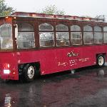 Pollace's trolley takes you into town