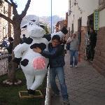 Our mascot...Hermelinda