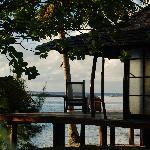 deck of bungalow