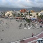 el hotel la pinta y la playa