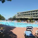 Corpo centrale hotel e piscina