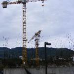 Construction near Residence Inn Escazu