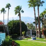 Terra Cotta Inn is the most mainstream clothing optional resort in Palm Springs, California, the