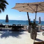 Beach and restaurantes at Laguna Village