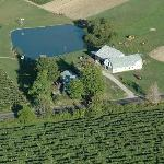 Contented Acres from the air