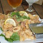 Calamari at Ocean Grill