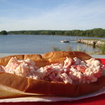Large Lobster Roll & View