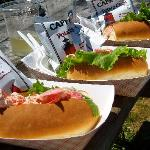The amazing lobster rolls!
