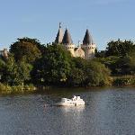 Centre du village - lac 2