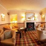 Guest Lounge - the perfect place for a hot chocolate, a dram, a book or just to sit back and rel