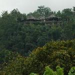 The villa...