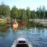 Canoeing on the Au Sable river