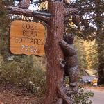Sign at entrance of driveway