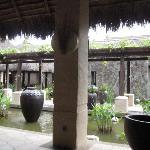 Lobby area at the Banjaran