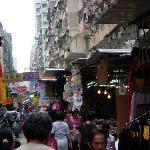 Markets by day near hotel