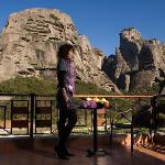 Room's Balcony with Meteora View