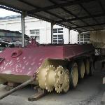 Un Panther in restauro