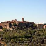 vista su Castelmuzio