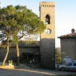 The church in Montegiove