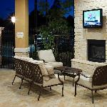 Covered Patio with HDTV
