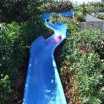 The children's slide