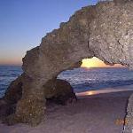 GALE BEACH AT N IGHT