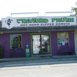 Exterior of the Fractured Prune