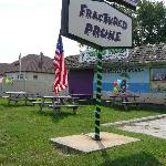 Outside dining at Fractured Prune