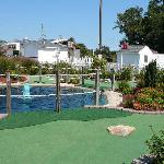 Course at Long Neck Mini-Golf (next to Bona Pizza)