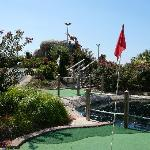 Course with nice landscaping at Long Neck Mini-Golf