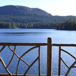 Looking out on Shawnigan Lake