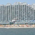 beach side of hotel