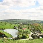Views across the Ryburn Valley