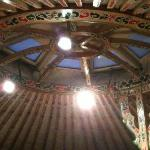 Skylight in Yurt