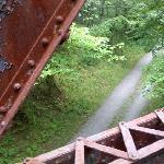 Bridge over toe path