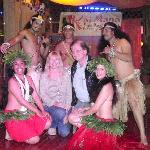 After the show/dinner in Kaimana Restaurant